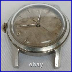 1940s Rare Vintage Omega Militar Cal. 28 SC Ref. 2474 1 Hand Winding Not Running