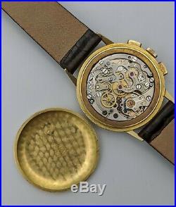 1944 OMEGA Chronograph 18K Rare Vintage Watch
