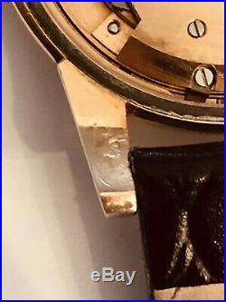 1950 14k Vintage Rose Gold Omega Automatic Chronometer! Cal. #343 Rare
