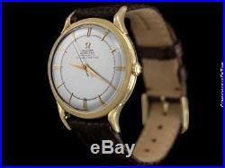 1951 OMEGA Rare Vintage Constellation Chronometer (Globemaster) 14311 18K Gold