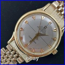 1952 Vintage Omega Constellation Chronometer 18K Gold Automatic Men's Watch RARE