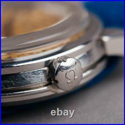 1958 Omega Seamaster Vintage Rare Patina Waffle watch mens 2828 @WatchAdoption