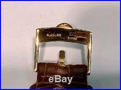 1961 OMEGA Ref. 14770-SC61 SEAMASTER 18K Y/G 34mm Tapestry Dial Cal. 562! RARE