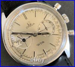 1969 Vintage Omega DeVille Sporty 2-registered Chronogrph Date At 9. Rare