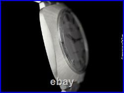 1970 OMEGA DYNAMIC Rare Large Vintage Mens Cal. 565 SS Steel Mint Warranty