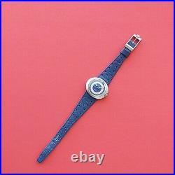 1970s Omega Dynamic Vintage Rare Blue Dial watch Swiss @WatchAdoption