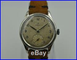 40's vintage watch mens OMEGA CK 2383 4 manual wind cal 30T2 RARE 35mm steel