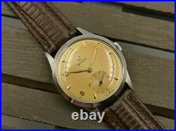 50's vintage watch mens OMEGA hand wind cal. 266 ref. 2750 2 MINT with BOX rare