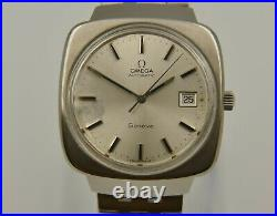 70's vintage watch mens OMEGA geneve ref. 166.0164 Automatic cal. 1012 RARE steel