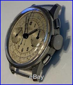 Angelus chronograph vintage very rare Cal. 215 no Rolex Longines omega zenith