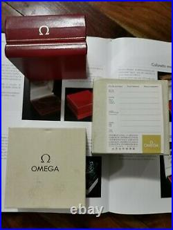 Box Omega Speedmaster super rare 861 set warranty blank 71 vintage 145.022 71