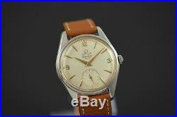 Extremely Rare Vintage 1958 Omega Ranchero Civilian 2990-1 Wristwatch
