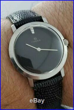 Gents Omega Vintage Museum Diamond Super rare watch