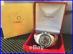 Mega Rare Vintage 1968 Omega Seamaster Soccer Timer Chrono # 145.016.68 two boxs
