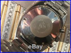 Mega Rare Vintage 1968 Omega Seamaster Soccer Timer Chrono # 145.016 Inner & box