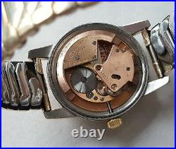 Men's Vintage 1951-52 Gold Capped Omega Seamaster'Bumper Automatic Rare Dial