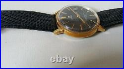 Men's Vintage Gold Plated Manual Winding Cal. 611 Omega Seamaster 600 Rare Dial