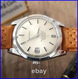 Men's Vintage Wristwatch Rare Omega Seamaster Chronometer S/Steel 1969