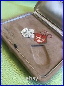 OMEGA CONSTELLATION 60s PIE PAN Box Scatola Uhrenbox + TAG Vintage Watch Rare