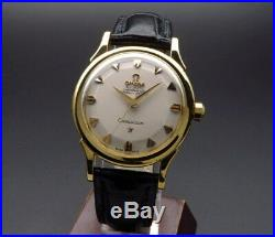OMEGA K18 Solid Gold Constellation Cal 505 Watch Overhauled 1959 Vintage Rare