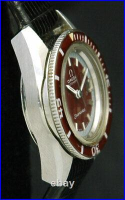 OMEGA SEAMASTER 60 AUTOMATIC DIVER Lady 566.024 Bakelite Bezel BOX 681 VTG RARE