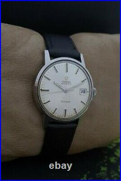 OMEGA SEAMASTER GENEVE AUTOMATIC cal. 565 VINTAGE 60's SS RARE 24J SWISS WATCH