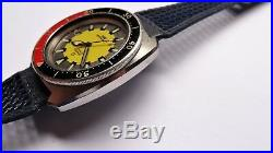 OMEGA Seamaster 200m Banana ref 166.068 Vintage diver RARE