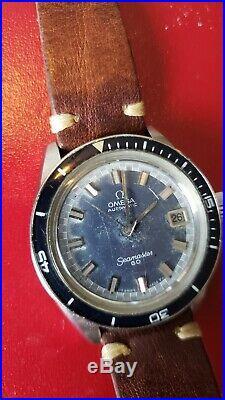 OMEGA Seamaster 60 Big crown 5. Bakelite Dial. Rare Omega Sale