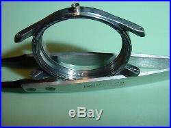 OMEGA Suveran Rare Military Steel, Caliber 30 T2, Swedish Vintage