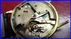 Omega Automatic Bumper Cal. 351 Ultra Rare Vintage'50 -gold Color S. Steel Back