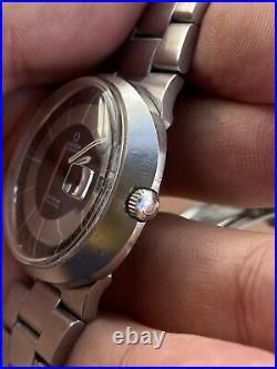 Omega Automatic Cal 565 Geneve Dynamic Original Racing Dial Rare Vintage Watch