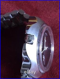 Omega Automatico GENEVE Nos Cobra Stingray Vintage Watch Box Full Set 80s Rare