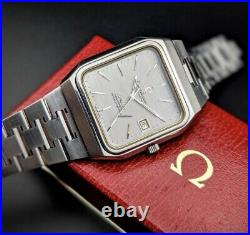 Omega Beautiful Rare Constellation Jumbo TV Vintage 1970s/Serviced