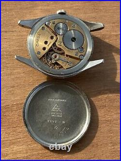 Omega Calatrava Cal 260 Ref 2505-30 Oversize Rare Vintage Watch