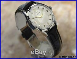 Omega Calibre 420 Swiss Made Mens 33mm Vintage 1950s Rare Manual Watch J52