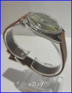 Omega Constellation Automatic Chronometer Vintage Cos Mov. 564 Fibbia Dial Rare