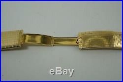 Omega Constellation Brick Style Bracelet Model 368.813 18k Rare Vintage 1960's