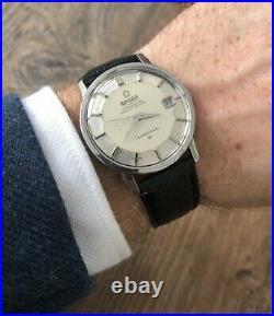 Omega Constellation Rare Pie Pan Jumbo Automatic S/S 1969 Serviced + Warranty