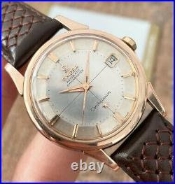 Omega Constellation Rare Pie Pan Vintage Men's Watch 1961 Serviced + Warranty