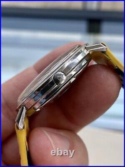 Omega Constellation Turler Automatic Pie Pan vintage Steel mens 1963 rare watch