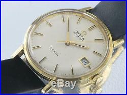 Omega Deville 18k Gold Vintage model Gents Watch Rare Collectors Model