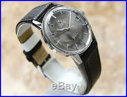 Omega Geneve Cal 565 Rare 35mm Mens 1960s Swiss Made Auto Vintage Watch o272