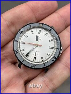 Omega Geneve Diver Admiralty Ancoretta Ref 135042 Sub Rare Vintage Watch