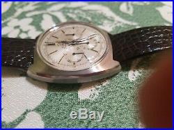 Omega Pre Moon Vintage 1960 321 Seamaster Ref 145.006 Rare Silver Dial Speedmast
