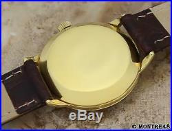 Omega Rare Bumper Cal 342 Swiss Made Men Auto Gold Fill 1960 Vintage Watch D159