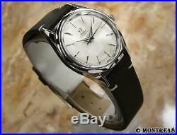 Omega Rare Cal 471 Rare Mens 33mm Swiss Made Automatic Vintage 1960 Watch S110