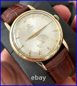 Omega Rare Turler Automatic Vintage Men's Watch 1950, Serviced + Warranty