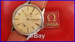 Omega Seamaster 14389-9 CSP rare Cal 266 FULL SERVICED Vintage DIAL PATINA