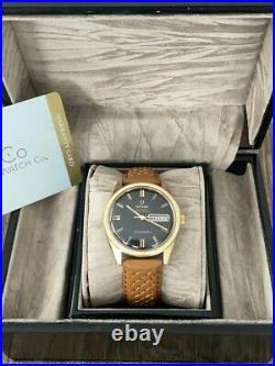 Omega Seamaster 14k Rare Automatic Men's Vintage Watch 1969, Serviced + Warranty