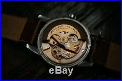 Omega Seamaster 2846 10 SC Thick Lug Two Tone Dial Vintage Watch Rare 1950s Auto